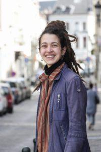 Zinneguide turque entre la Bourse et Dansaert / Photo by Elio Germani